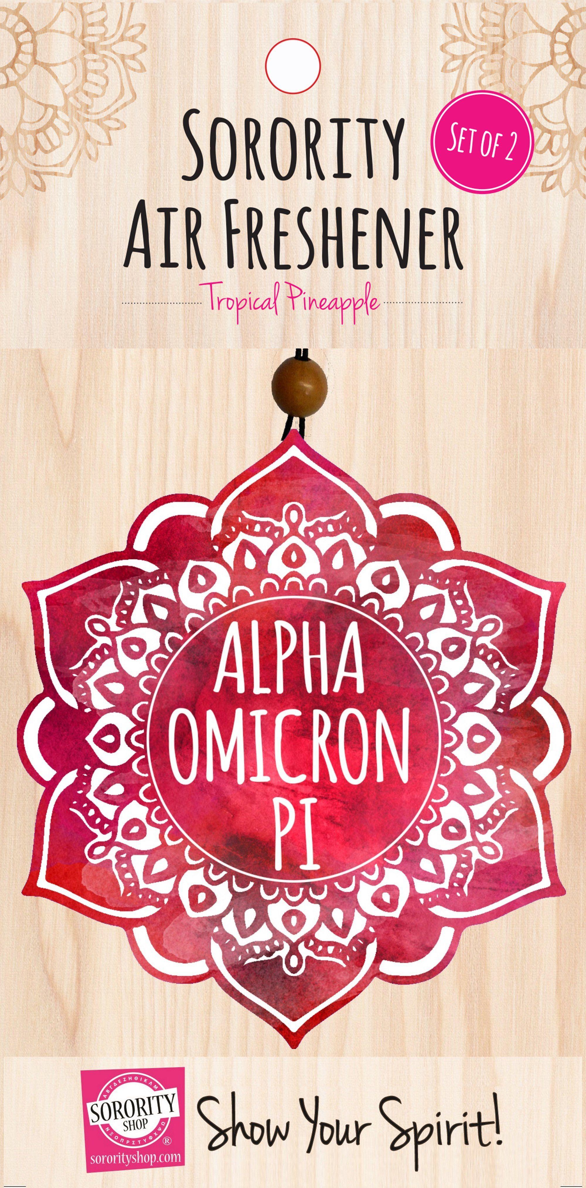 Alpha Omicron Pi Mandala Air Freshener Air freshener