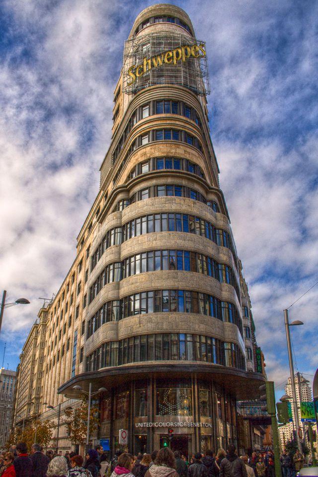 Edificio Carrión (building) in Madrid