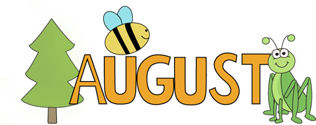 August Nature Clip Art - August Nature Image | August ...