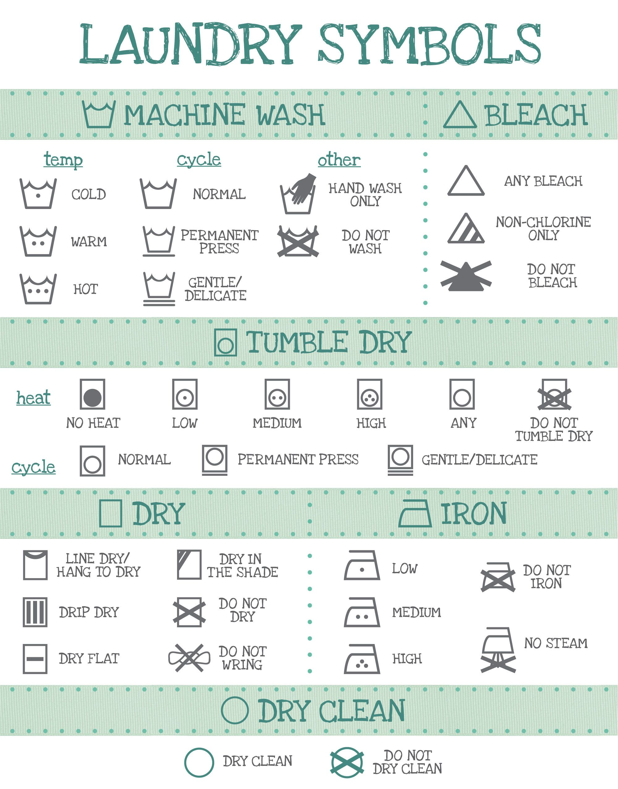 Laundry Symbols Laundry Pinterest Laundry Symbols And Life Hacks