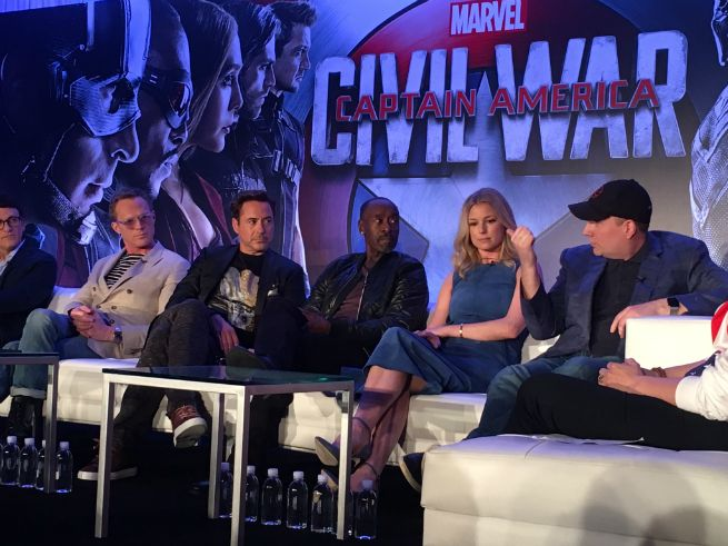 an awesome chat with the cast of marvel s captain america civil war
