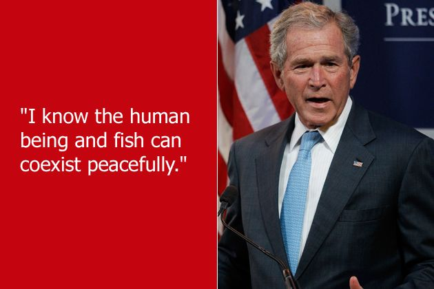 George W Bush Makes Me Smile 2