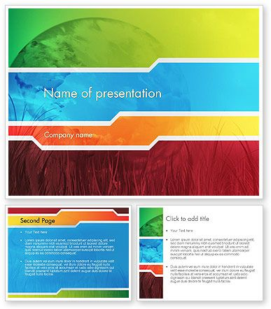 http://www.poweredtemplate/12180/0/index.html pied planet, Presentation templates
