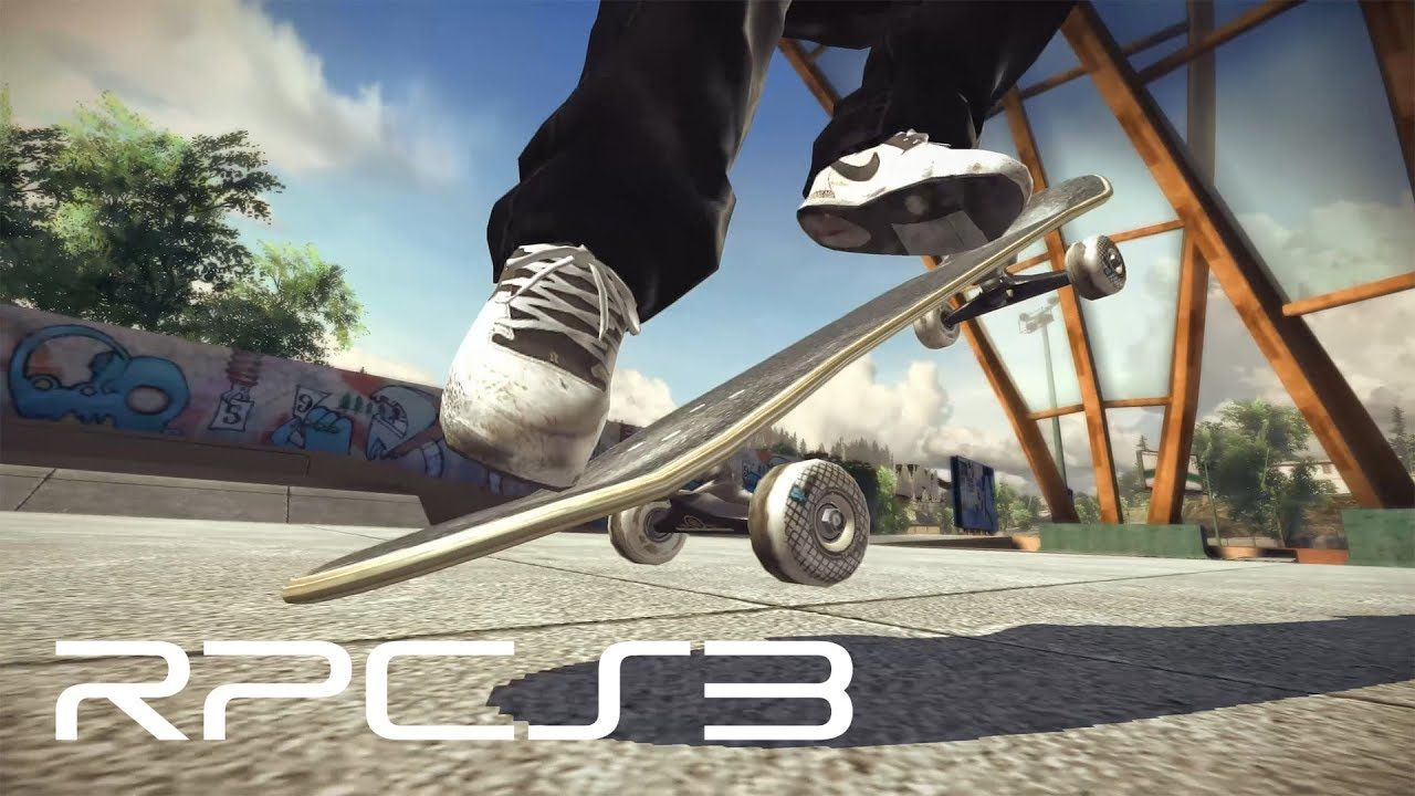 RPCS3 (PS3 Emulator) - Skate Now Playable! (4k Gameplay) #pc