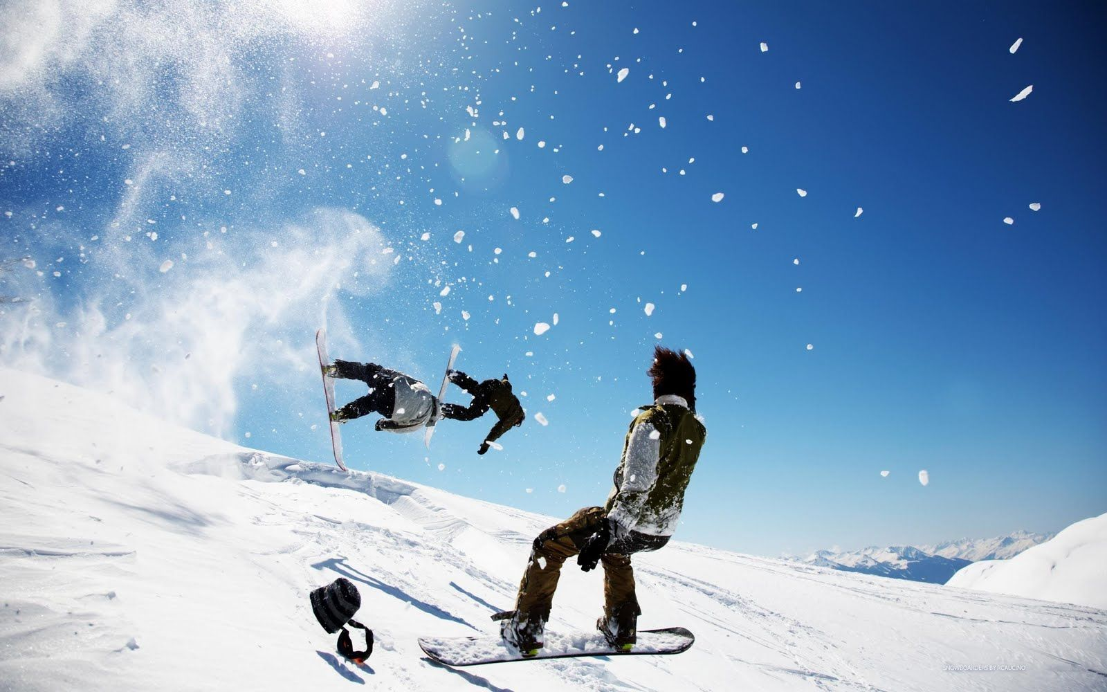 snowboarding wallpaper hd 1600x1000px #890097 | snow boarding