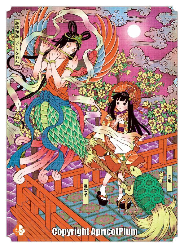 JAlice in Wonderland by Japanese illustrator ApricotPlum