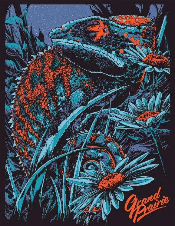 Striking Gig Posters by Ken Taylor