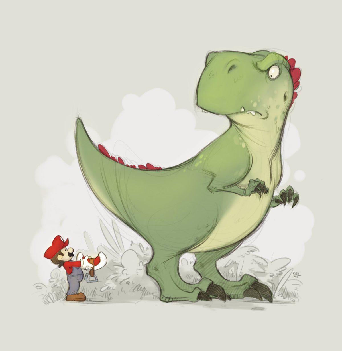 Смешные картинки динозавра, день нового
