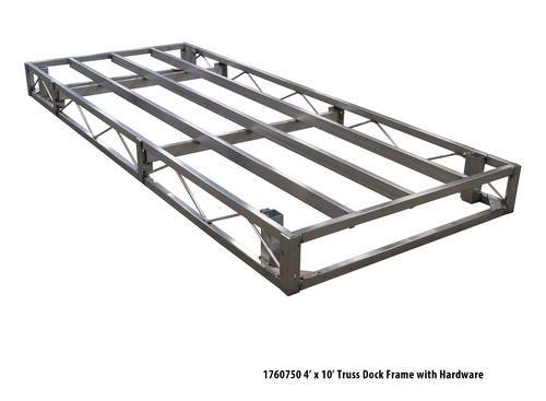 4 u0026 39  x 10 u0026 39  truss dock frame with hardware at menards
