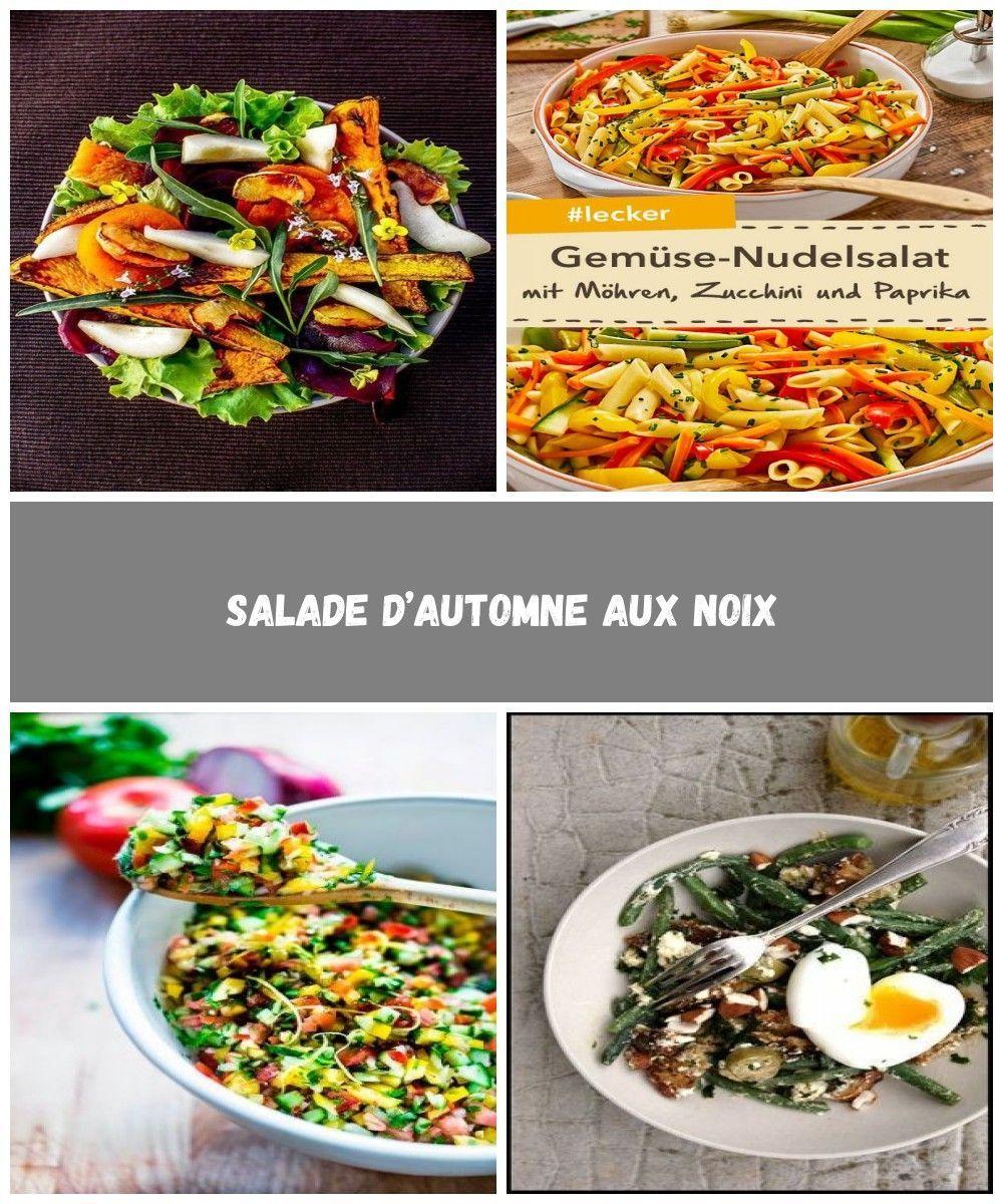 Salade d'automne aux noix salat vegetarisch Salade d'automne aux noix #saladeautomne Salade d'automne aux noix salat vegetarisch Salade d'automne aux noix #saladeautomne