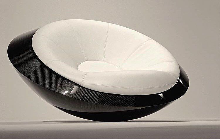 The Full Carbon Fiber In Limited Edition U F O Armchair The