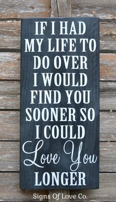 Love Plaques Quotes Alluring Chalkboard Art Wood Wedding Sign Painted Anniversary Gift Couples
