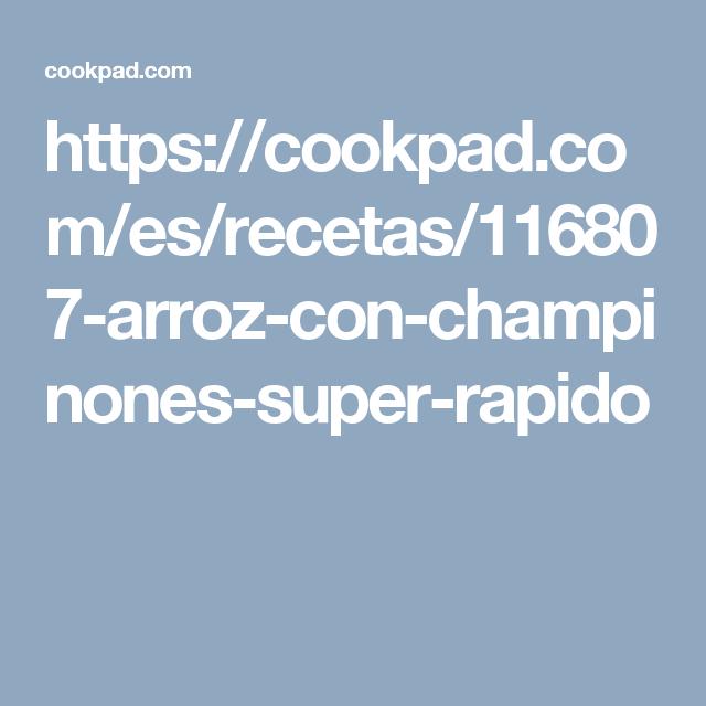 Arroz Con Champiñones Súper Rápido Receta De Mary3737 Recipe Powdered Coffee Creamer Recipe Coffee Creamer Coffee Creamer Recipe