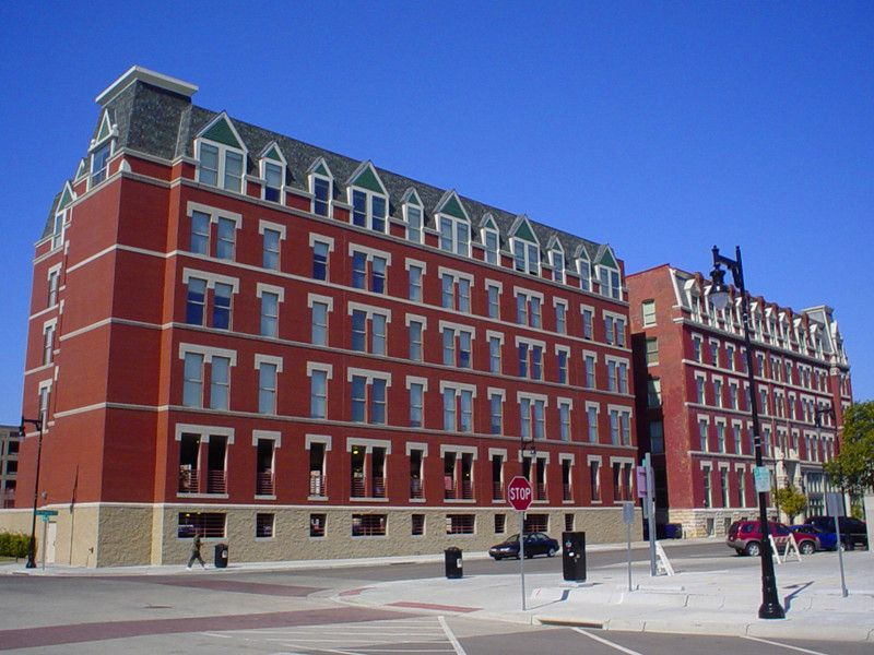 Quaker's commercial project in Wichita, KS - Eaton Hotel.