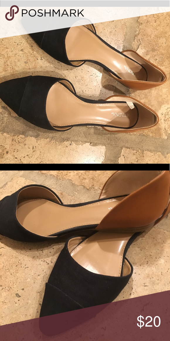 03ae477bd56 Two toned flats Two toned merona flats. Worn only once