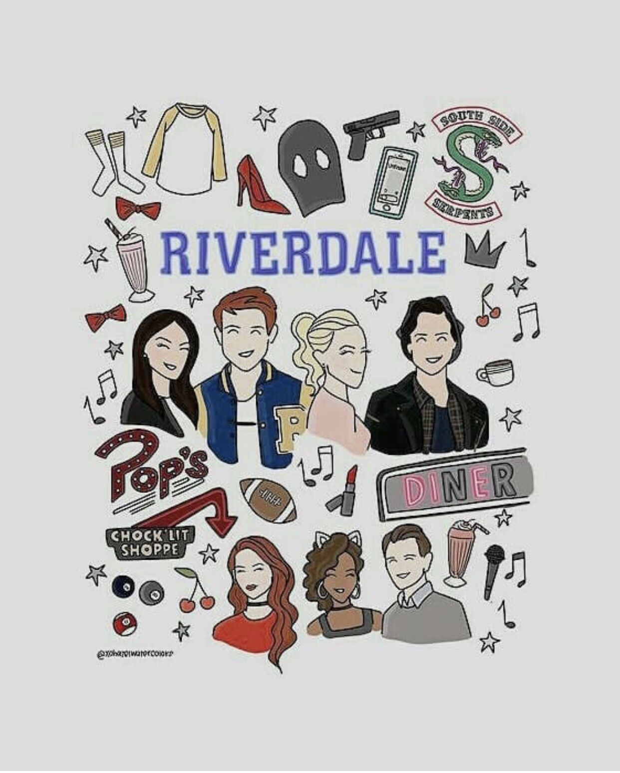 Pin By Velloso On Series Riverdale Cute Wallpapers Wallpaper S