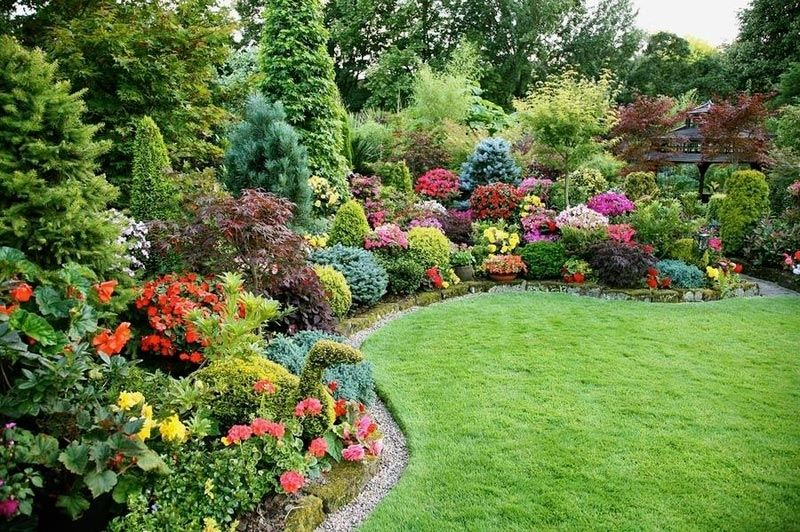 Landscaping Front Yard With Shrubs Landscape Design Within Landscaping With Shrubs  Ideas