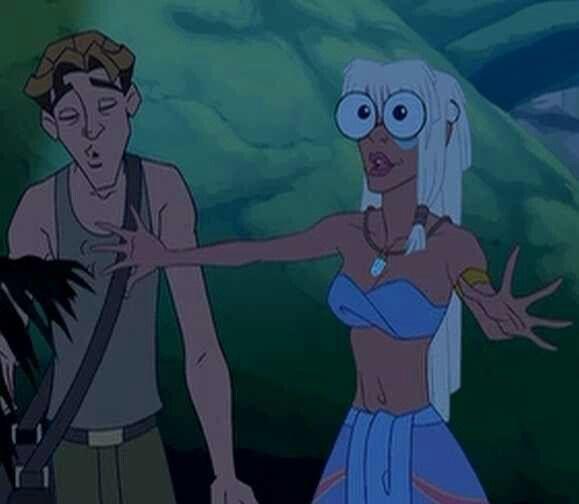 Bahaha Milo And Kida Classic Disney Movies Animated Movies Milo And Kida