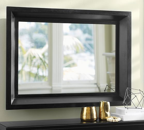 Wood Bevel Mirror Beveled Mirror Kirkland House Wood Home Decor