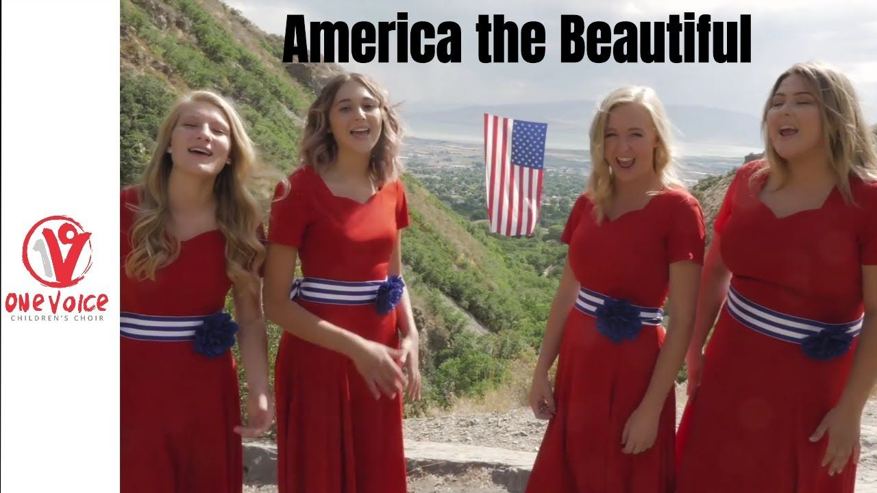 America The Beautiful By One Voice Children S Choir Youtube Choir Family Friendly Music The Voice