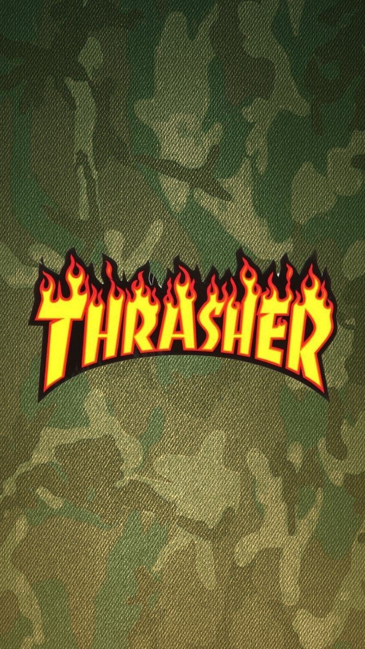 Thrasher was camouflaged (With images) Hypebeast wallpaper