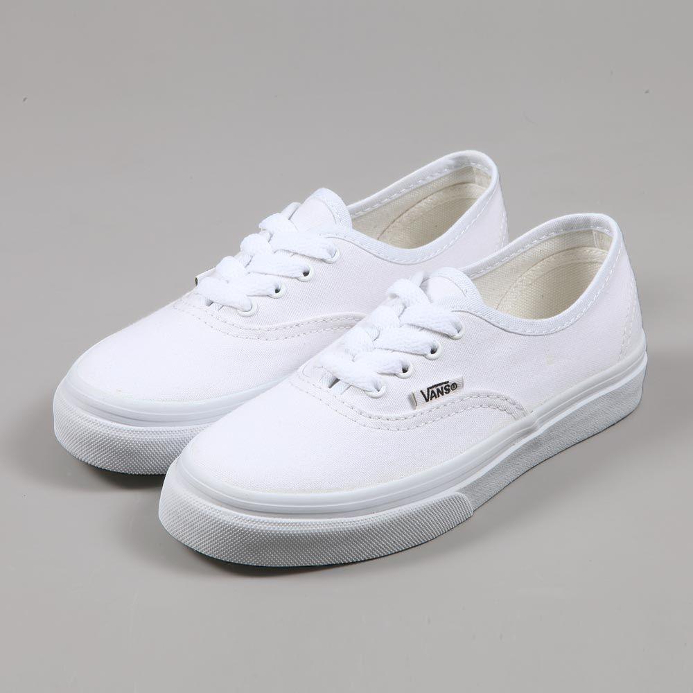 303744d643ca Buy all white infant vans