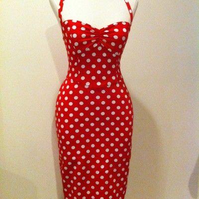 Betsey Johnson Polka Dot Pin Up Dress Size 2 | Betsey johnson ...