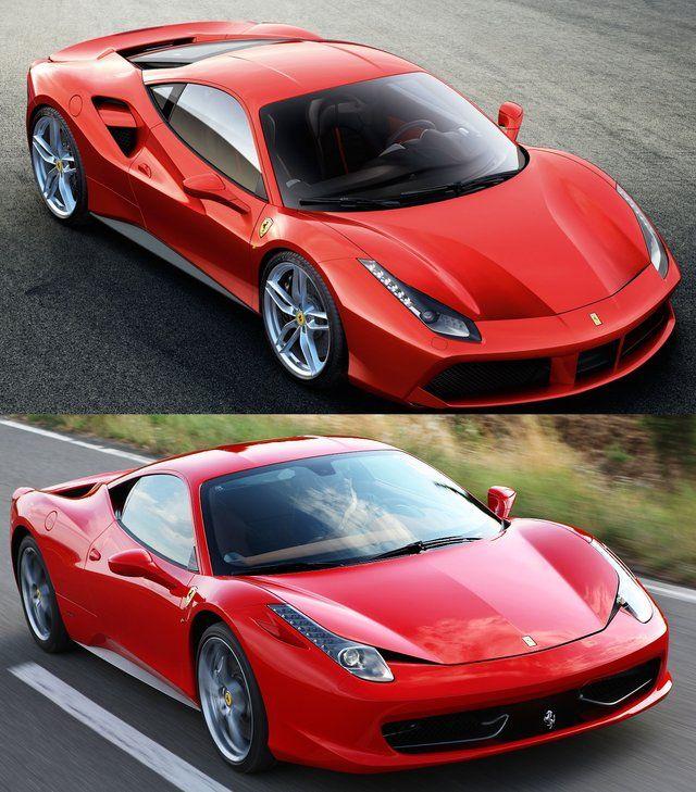 "Ferrari 488 GTB E 458 Italia: ""purosangue"" A Confronto"