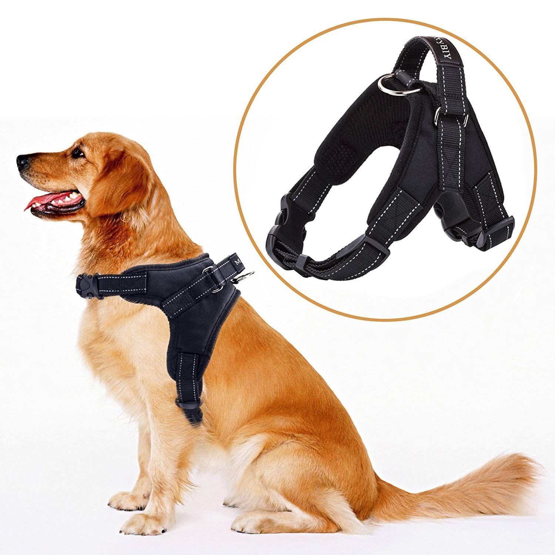 Dog Harness Pet Vest Merrybiy No Pull Adjustable Collar Dog