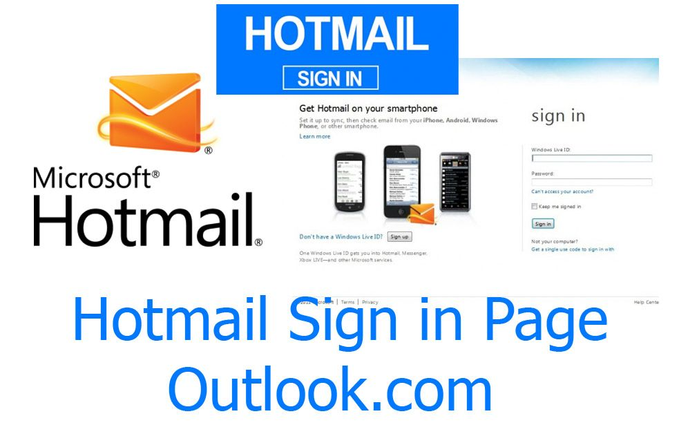 Hotmail Sign in Page - Outlook com Account | Hotmail Mail