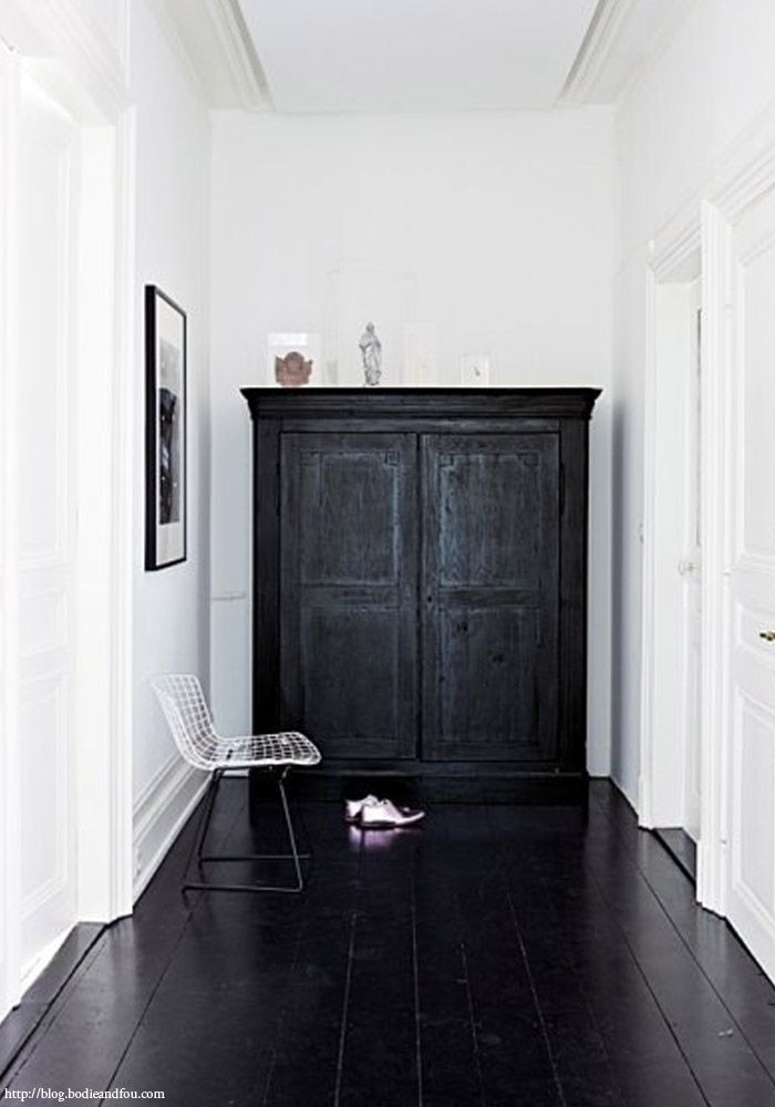Genoeg Zwarte houten vloer | DONKERE VLOEREN | MARTIJN DE WIT VLOEREN &PW98