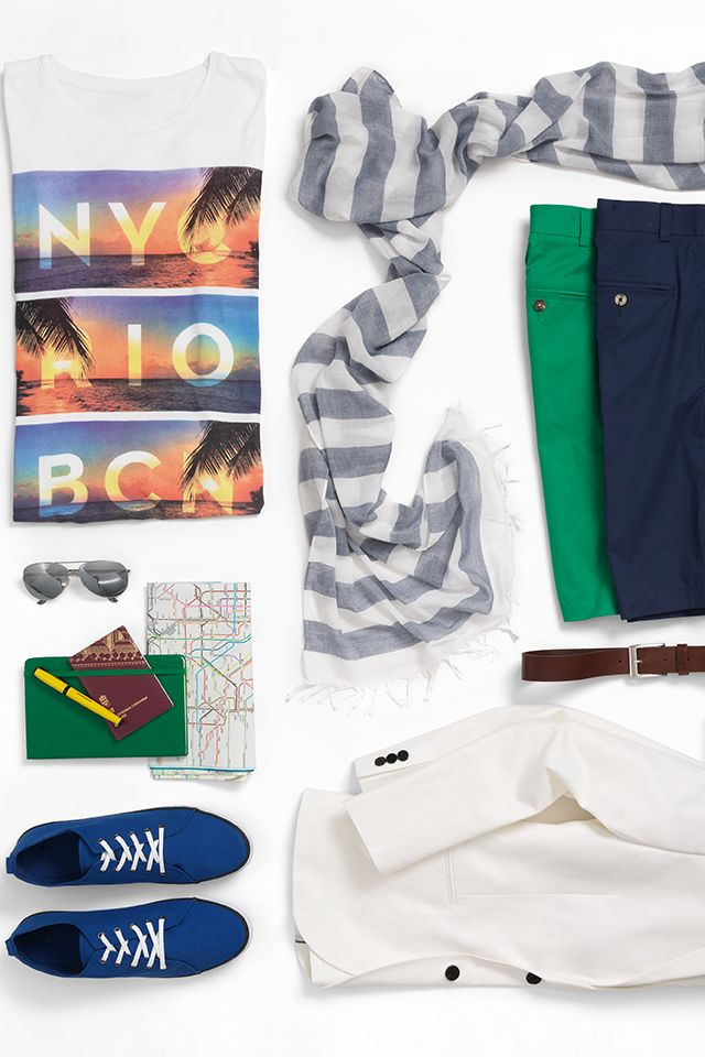 Vacation checklist Go sight seeing in style HM #HMMEN - vacation checklist