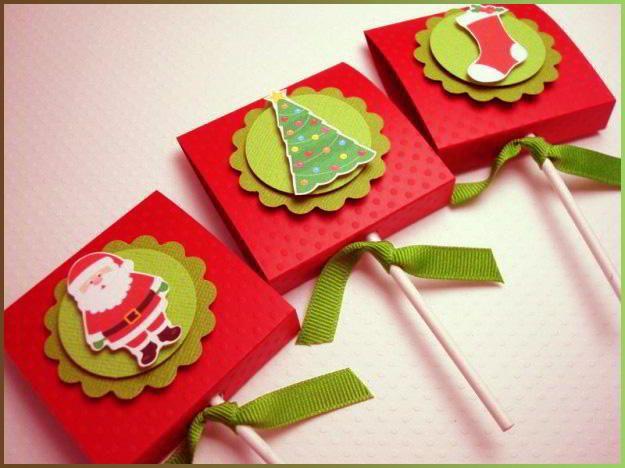Manualidades Para Tarjetas Navideas - Tarjetas-navideas-para-nios