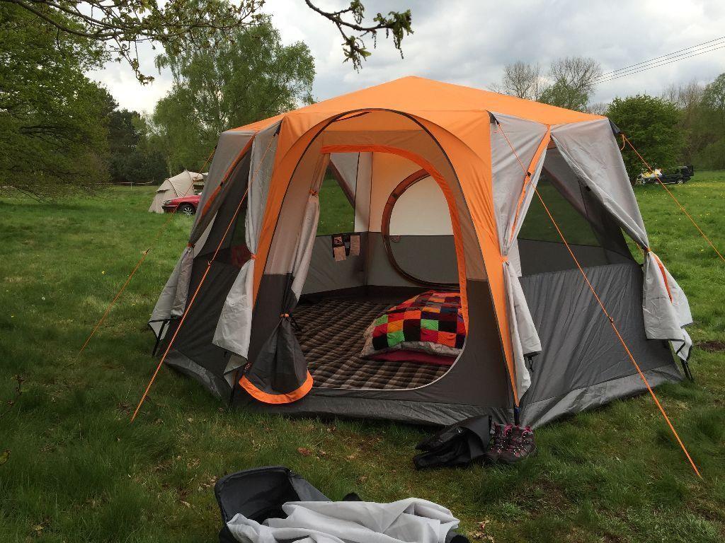 Festival Zelt Octagon 8 : Coleman cortes octagon tent in hebden bridge west