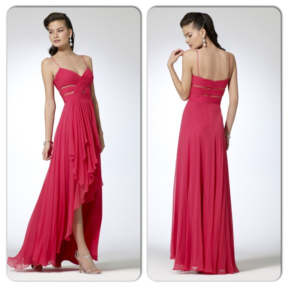 Pink high low dress red carpet ready pinterest high low red