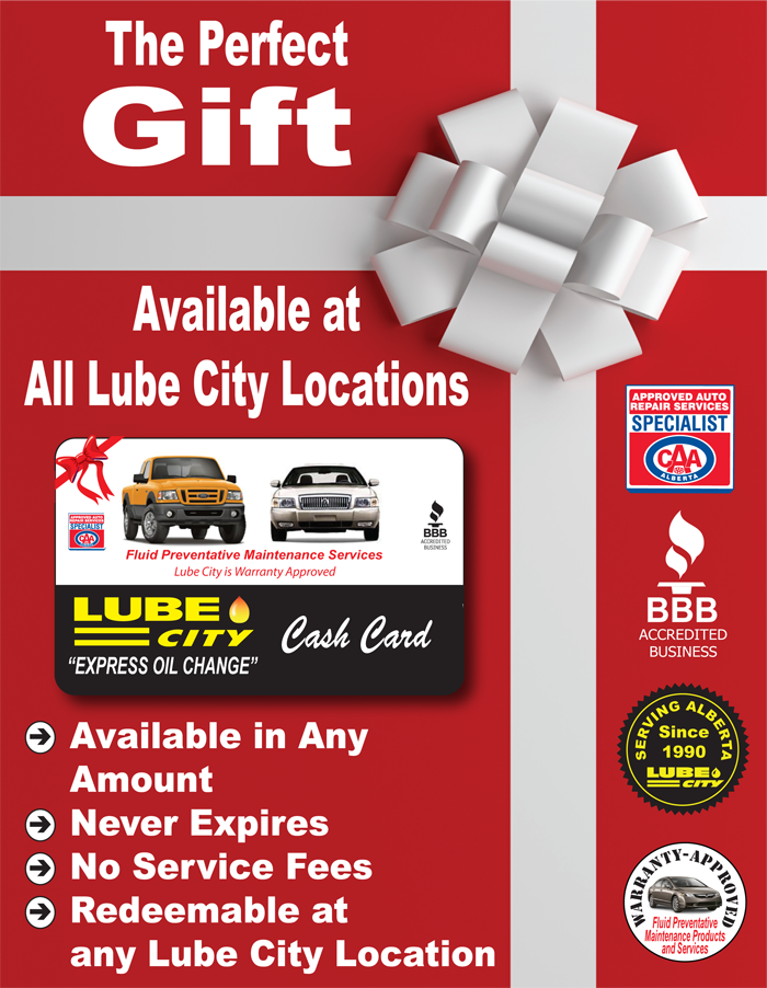 gift cards available at http www lubecity ca gift cards lube