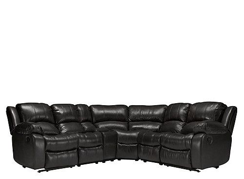 Bryant Ii 6 Pc Leather Power Reclining Sectional Sofa Sectional Sofa Sofa Recliner