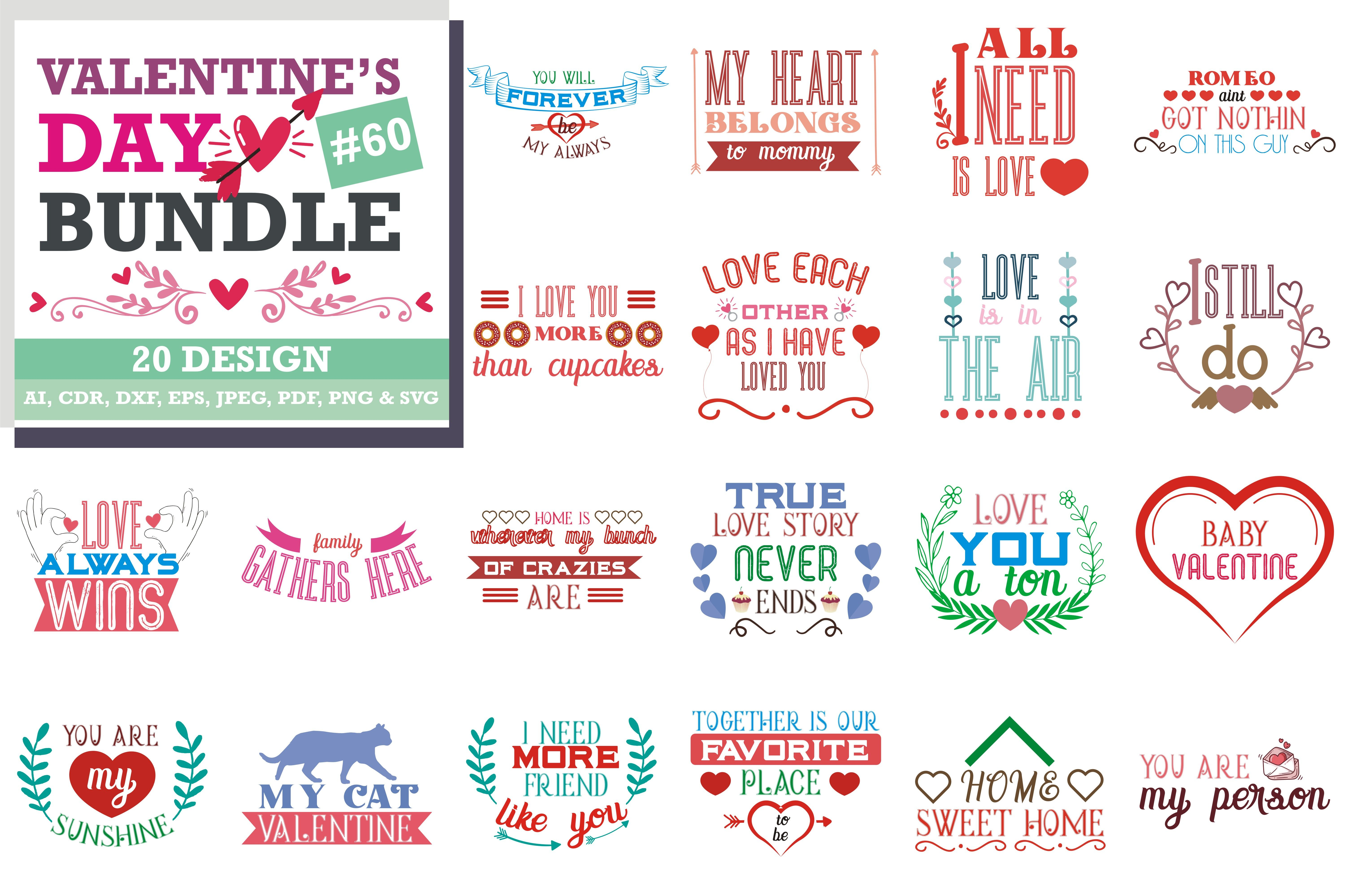 Download Free Valentine S Day Svg Bundle Graphic By Thelucky Valentines Design Valentines For Boys I Love Daddy PSD Mockup Template