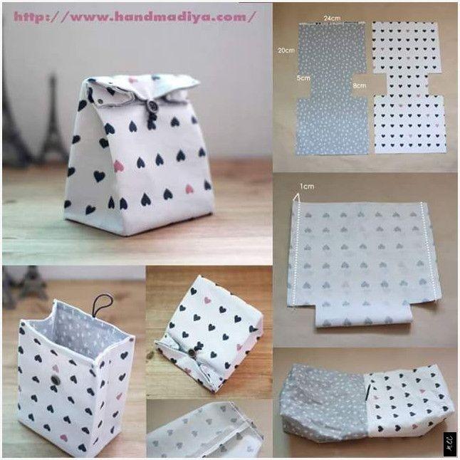 #quadrat #kosmetische Tasche # nähen # Schritt # Schritt - Welcome to Blog