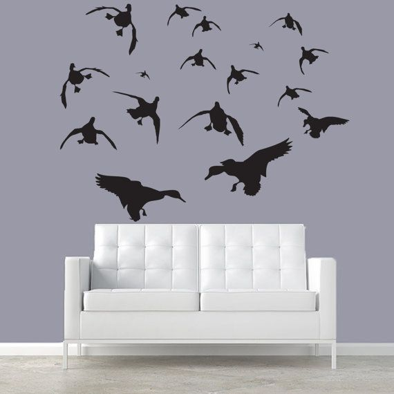 Mallard Wall Decal Silhouettes