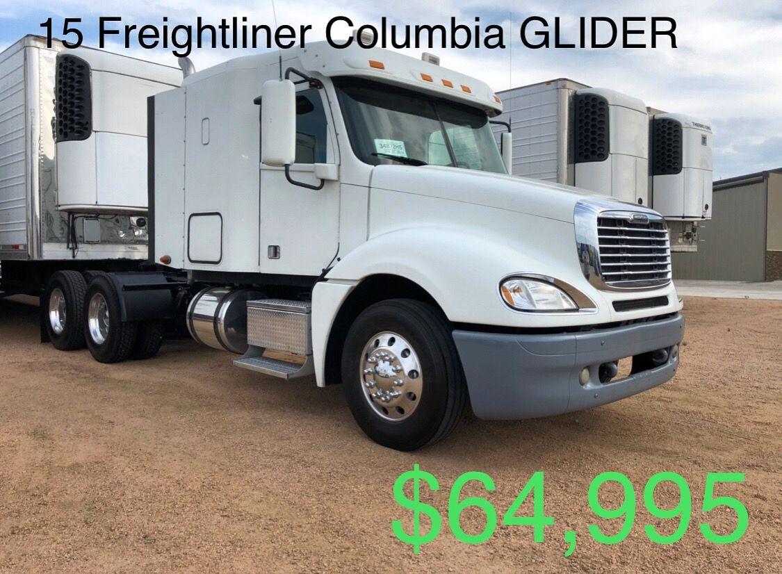 15 Freightliner Columbia Glider Freightliner Gliders Trucks