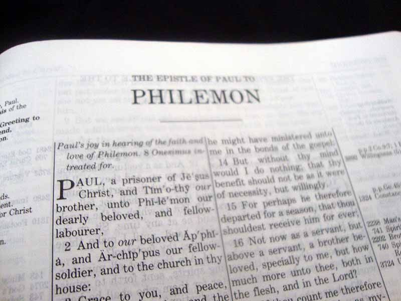 End times research the epistle of paul to philemon
