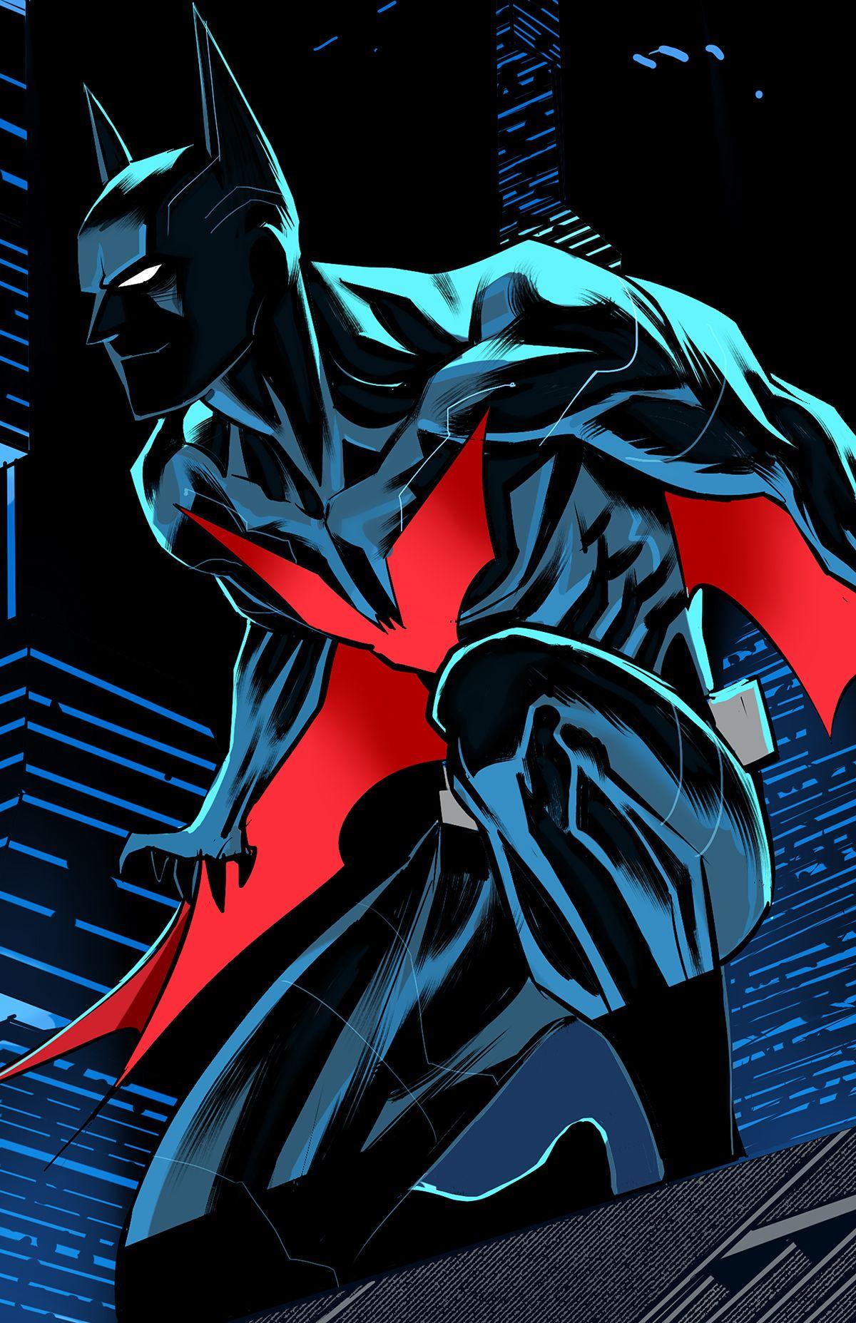 Batman beyond on Behance | Batman beyond, Dc comics batman ...