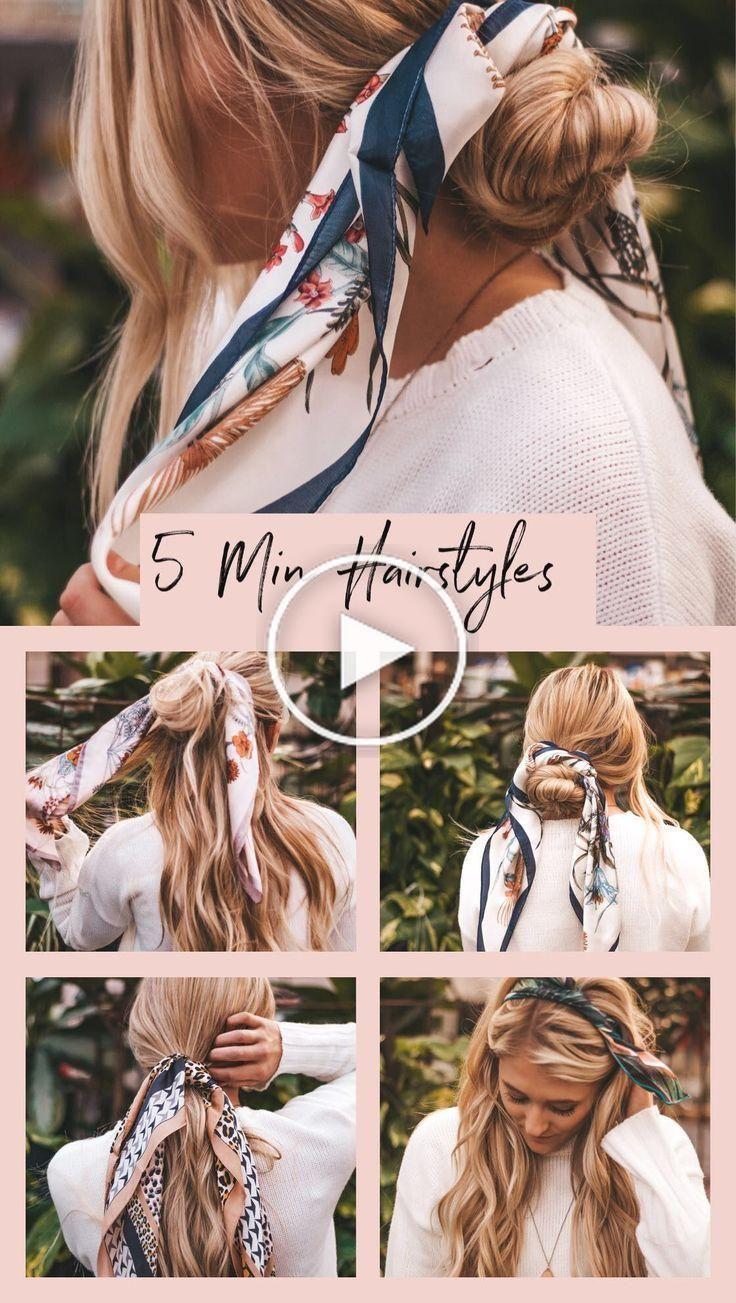 Peinados sencillos y fáciles.  Peinados de 5 minutos.  peinados rápidos.  Cortes de pelo para lo  – Peinados