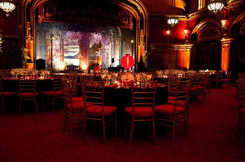 Love The Theater Background For A Place To Do Wedding And Reception