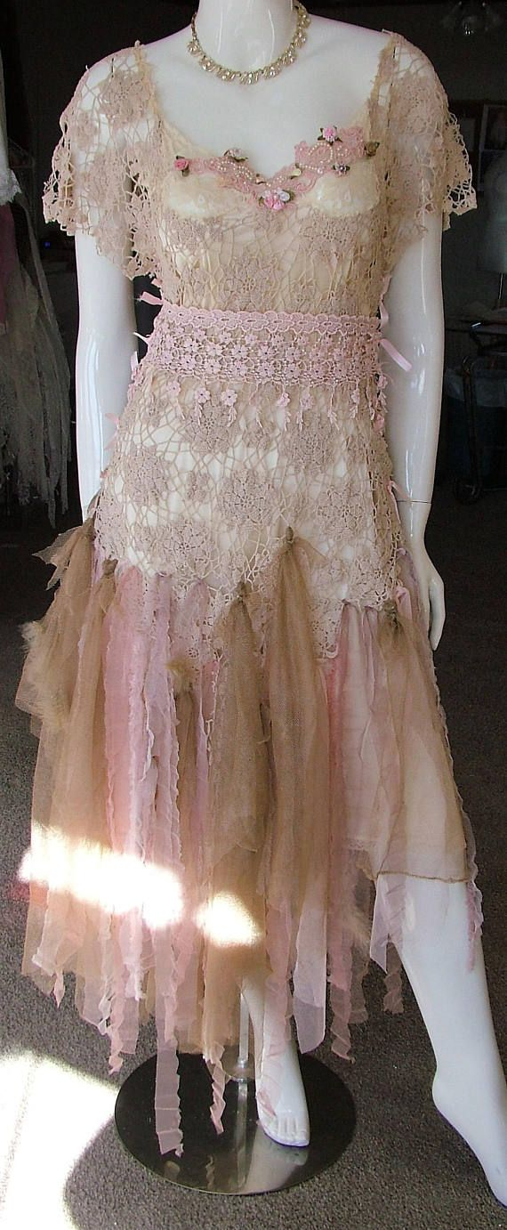 Mother of the bride wedding dress unique victorian style dusky pink