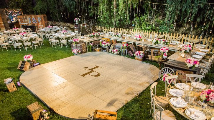 Diy your own dance floor craft by kennethwingard tune for Wedding dance floor size