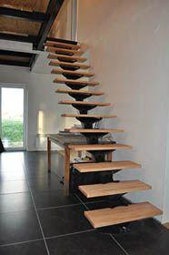 модульная стеклянная лестница