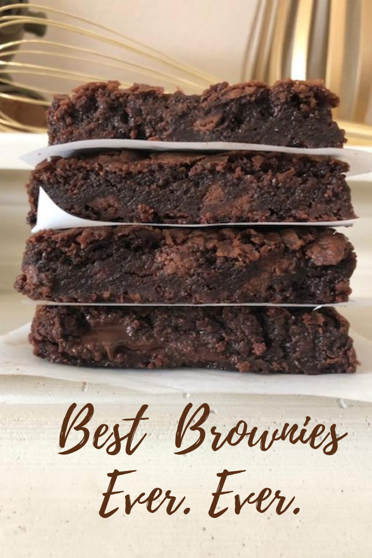 Photo of Best Brownies Ever. Ever.