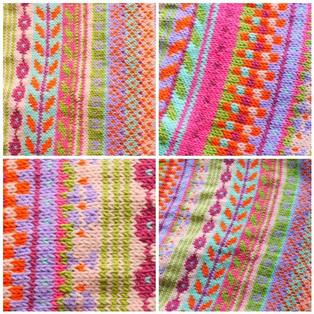 by Vanessa (Do you mind if I knit) - the colours on this fair isle ...
